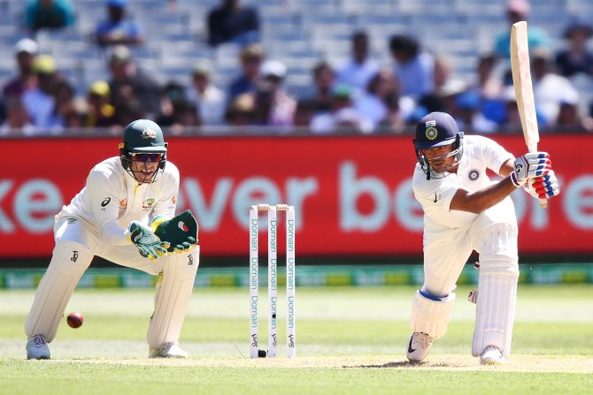 Mayank Agarwal 76 Australia India Boxing Day Test 3rd Test Day 1 Melbourne cricket