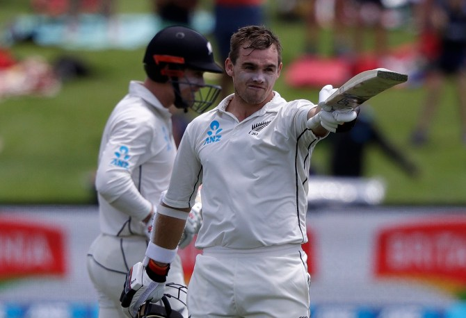 Tom Latham 176 New Zealand Sri Lanka Boxing Day Test 2nd Test Day 3 Christchurch cricket