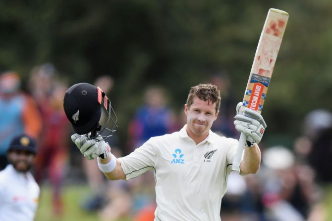 Henry Nicholls 162 not out New Zealand Sri Lanka Boxing Day Test 2nd Test Day 3 Christchurch cricket