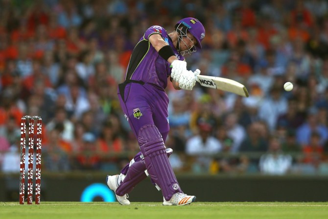 D'Arcy Short 34 runs two wickets Hobart Hurricanes Melbourne Stars Big Bash League BBL 7th Match cricket