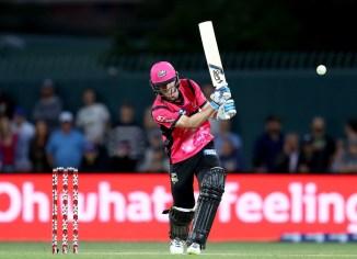Jordan Silk 67 Sydney Sixers Perth Scorchers Big Bash League BBL 4th Match cricket