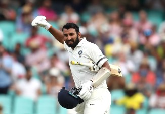 Cheteshwar Pujara 130 not out Australia India 4th Test Day 1 Sydney cricket