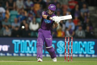 D'Arcy Short 96 not out Hobart Hurricanes Melbourne Stars Big Bash League BBL 31st Match cricket