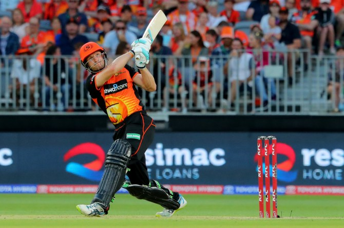 Cameron Bancroft 87 not out Perth Scorchers Sydney Sixers Big Bash League BBL 30th Match cricket