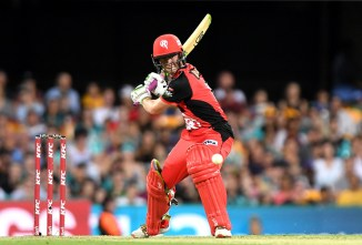 Sam Harper 56 Melbourne Renegades Brisbane Heat Big Bash League BBL 26th Match cricket