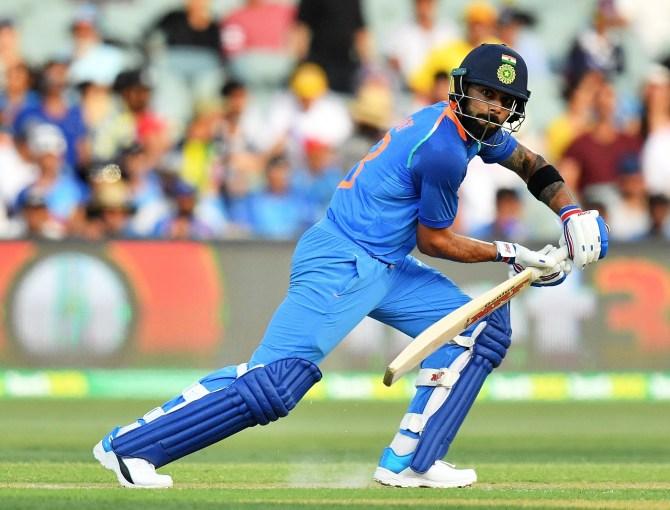Virat Kohli 104 Australia India 2nd ODI Adelaide cricket