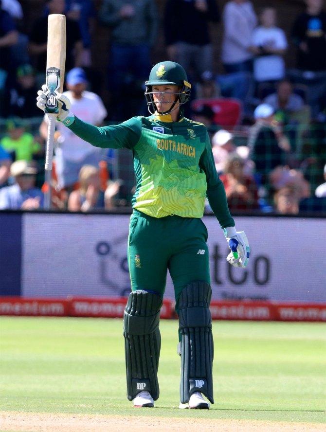 Rassie van der Dussen 93 South Africa Pakistan 1st ODI Port Elizabeth cricket