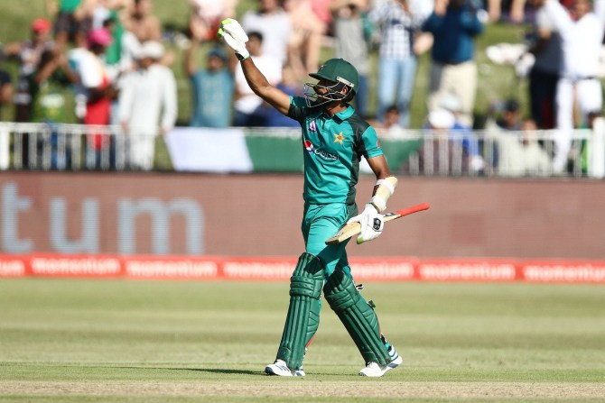 Hasan Ali 59 South Africa Pakistan 2nd ODI Durban cricket