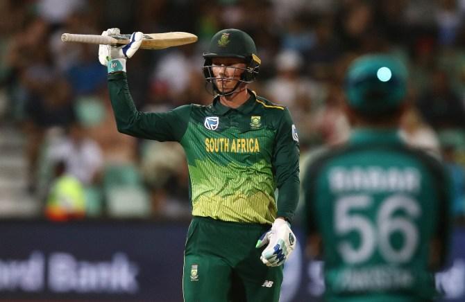 Rassie van der Dussen South Africa Pakistan 2nd ODI Durban cricket