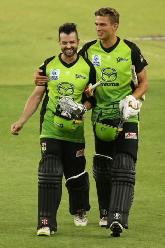 Callum Ferguson 113 Sydney Thunder Perth Scorchers Big Bash League BBL 41st Match cricket