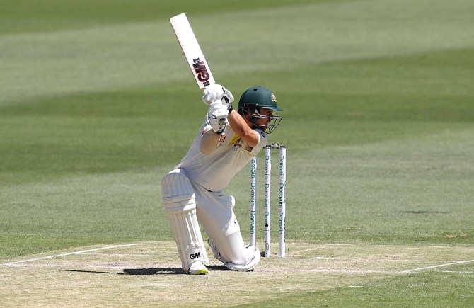 Travis Head 84 Australia Sri Lanka 1st Test Day 2 Brisbane cricket