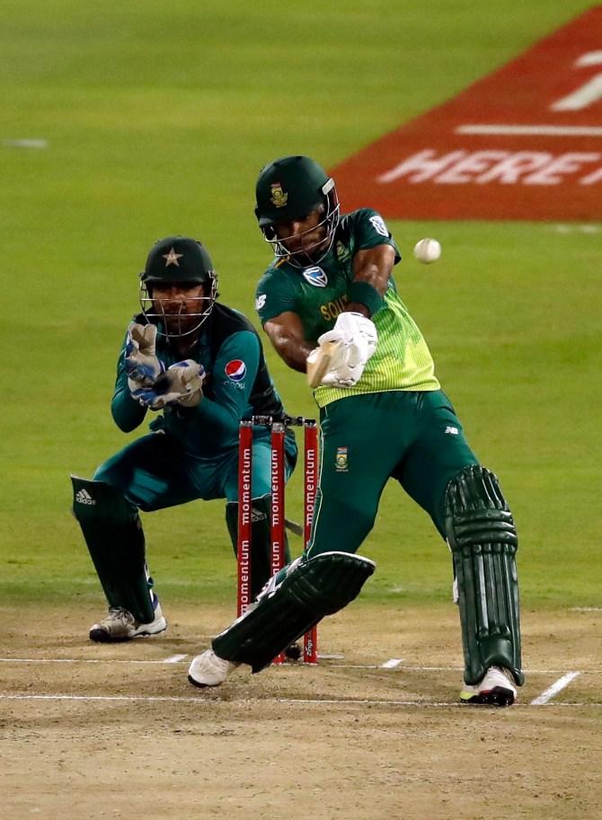Reeza Hendricks 83 South Africa Pakistan 3rd ODI Centurion cricket