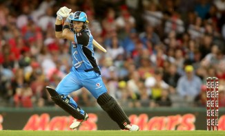 Colin Ingram 75 Adelaide Strikers Sydney Thunder Big Bash League BBL 14th Match cricket