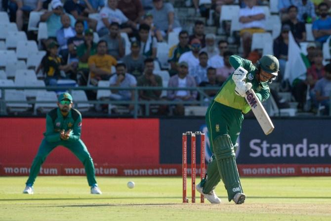 Quinton de Kock 83 South Africa Pakistan 5th ODI Cape Town cricket