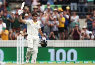 Joe Burns 172 not out Australia Sri Lanka 2nd Test Day 1 Canberra cricket