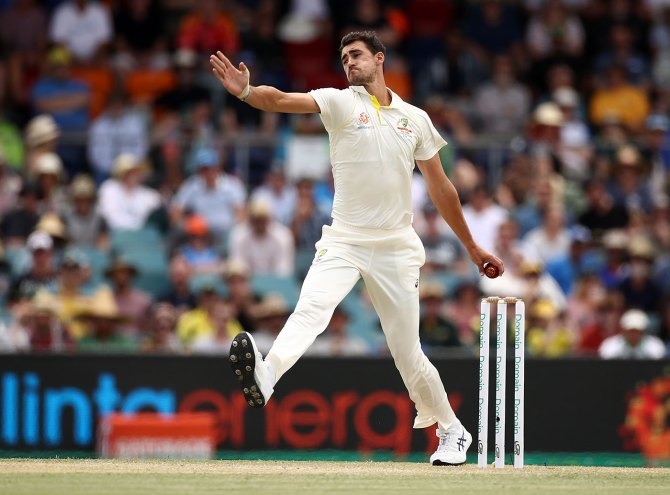 Mitchell Starc miss Australia's limited overs tour of India due to substantial tear in his left pectoral muscle Australia cricket