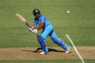 Ambati Rayudu 90 New Zealand India 5th ODI Wellington cricket