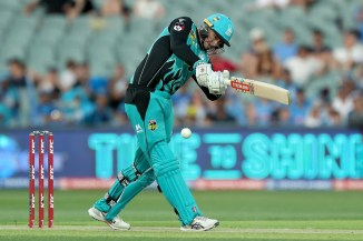 Matt Renshaw 90 not out Brisbane Heat Adelaide Strikers Big Bash League BBL 50th Match cricket