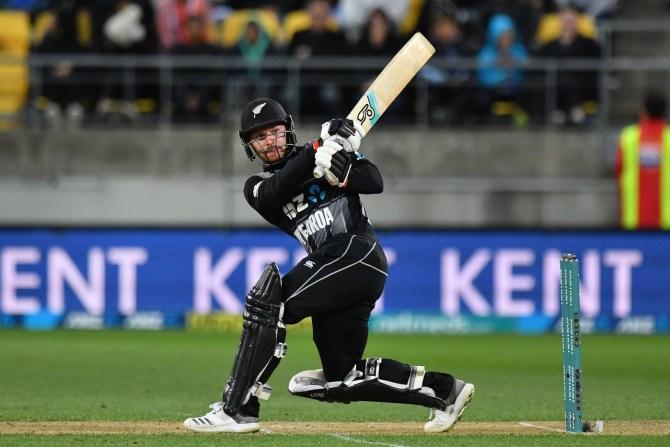 Tim Seifert 84 New Zealand India 1st T20 Wellington cricket