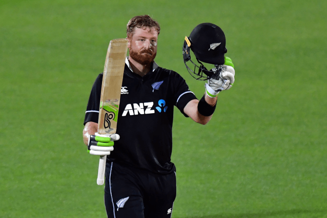 Martin Guptill 117 not out New Zealand Bangladesh 1st ODI Napier cricket
