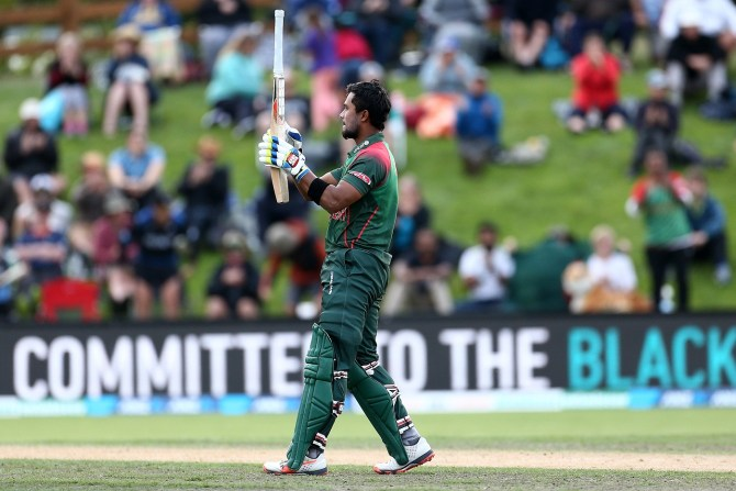 Sabbir Rahman 102 New Zealand Bangladesh 3rd ODI Dunedin cricket