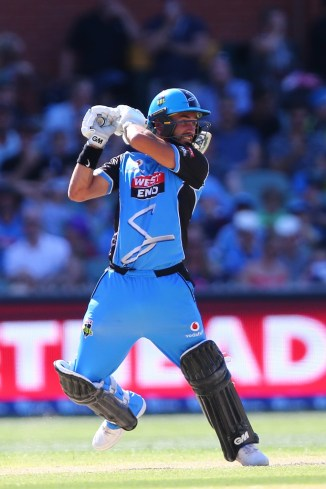 Jake Weatherald 82 Adelaide Strikers Hobart Hurricanes Big Bash League BBL 47th Match cricket