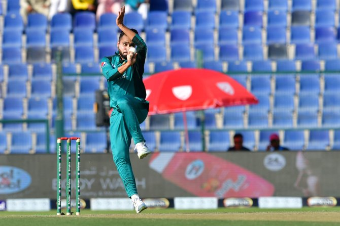 Faheem Ashraf rested last three ODIs against Australia Pakistan ODI series cricket