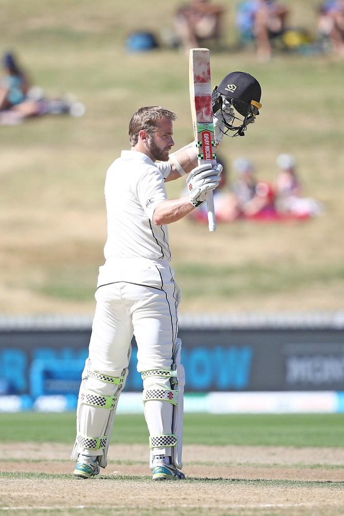 Kane Williamson 200 not out New Zealand Bangladesh 1st Test Day 3 Hamilton cricket
