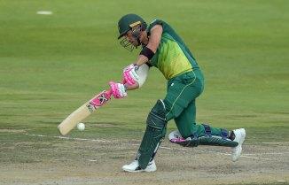 Faf du Plessis 112 not out South Africa Sri Lanka 1st ODI Johannesburg cricket