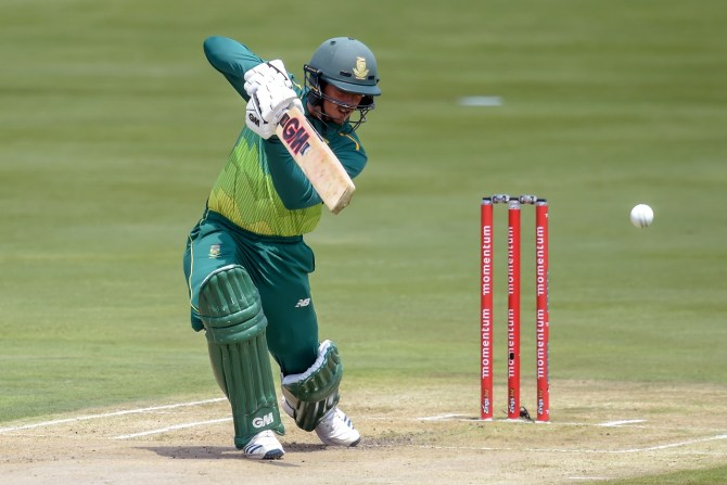 Quinton de Kock 94 South Africa Sri Lanka 2nd ODI Centurion cricket