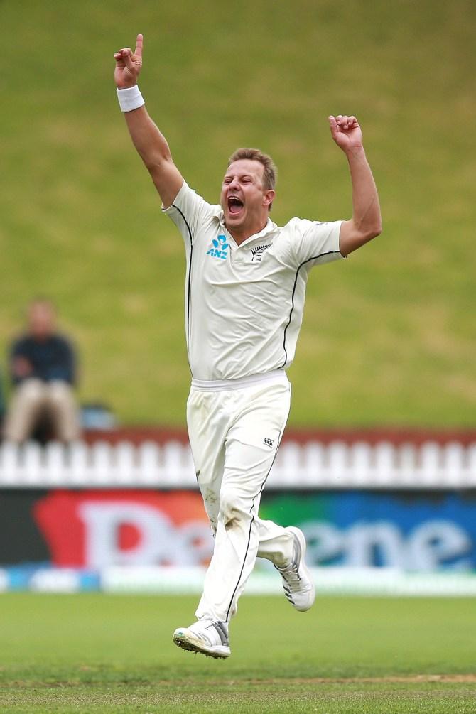 Neil Wagner four wickets New Zealand Bangladesh 2nd Test Day 3 Wellington cricket