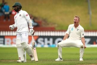 Neil Wagner five wickets New Zealand Bangladesh 2nd Test Day 5 Wellington cricket