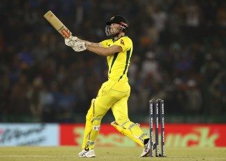 Ashton Turner 84 not out India Australia 4th ODI Mohali cricket