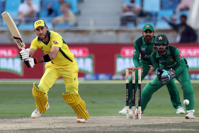 Glenn Maxwell 98 Pakistan Australia 4th ODI Dubai cricket