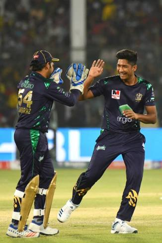 Sarfraz Ahmed highly impressed with Mohammad Hasnain's pace Pakistan Super League PSL Quetta Gladiators Pakistan Australia ODI series cricket