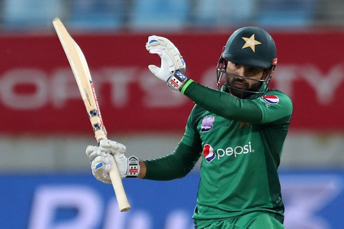 Sarfraz Ahmed admits Mohammad Rizwan was unlucky to miss out on being included in Pakistan's World Cup squad cricket