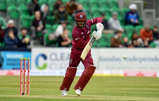 Shai Hope 109 West Indies Bangladesh ODI tri-series Dublin cricket