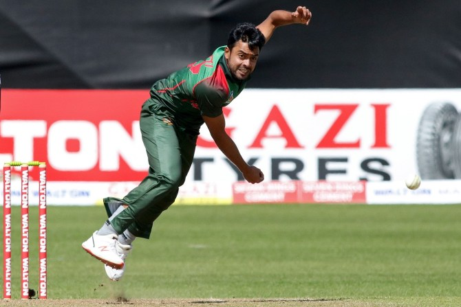 Abu Jayed five wickets Ireland Bangladesh ODI tri-series 6th match Dublin cricket