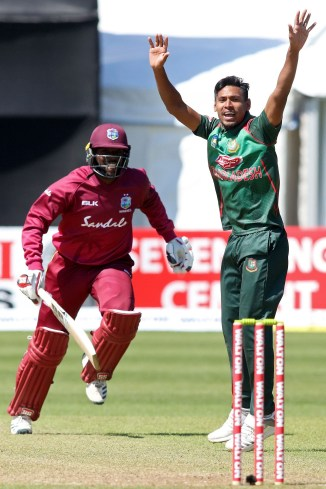 Mustafizur Rahman four wickets Bangladesh Ireland ODI tri-series 5th Match Dublin cricket