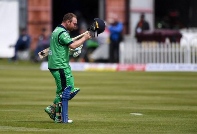 Paul Stirling 130 Ireland Bangladesh ODI tri-series 6th match Dublin cricket