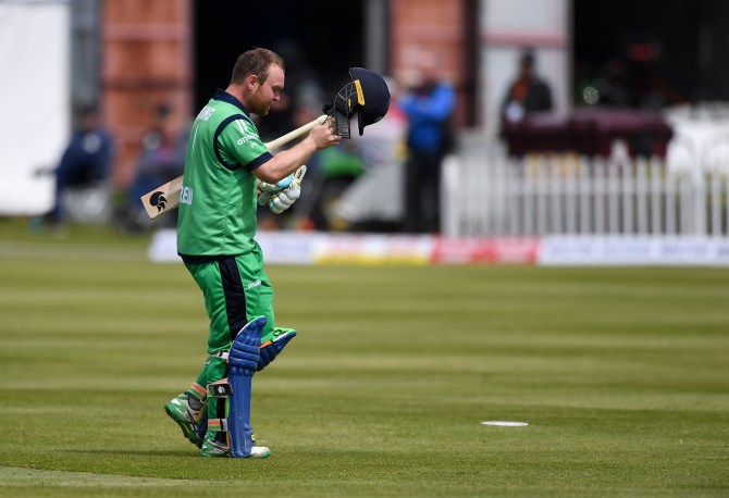 Paul Stirling 130 Ireland Bangladesh ODI tri-series 6th match Dublin cricket