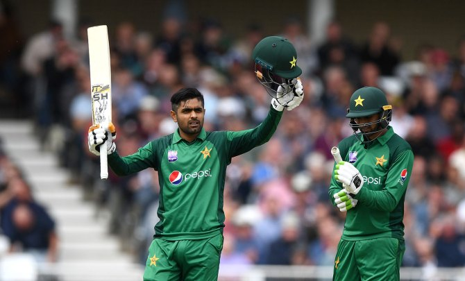 Babar Azam 115 England Pakistan 4th ODI Nottingham cricket