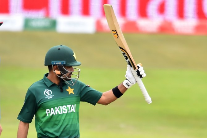 Babar Azam has insisted that he is not selfish and is playing for the Pakistan team rather than himself World Cup cricket