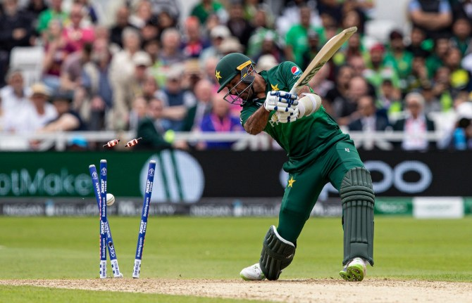 """Shoaib Akhtar was """"speechless"""" after Pakistan were bowled out for 105 in their World Cup opener against the West Indies cricket"""
