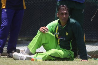Shoaib Akhtar claims that four players tried to hit him with a bat during a tour of Australia Pakistan cricket