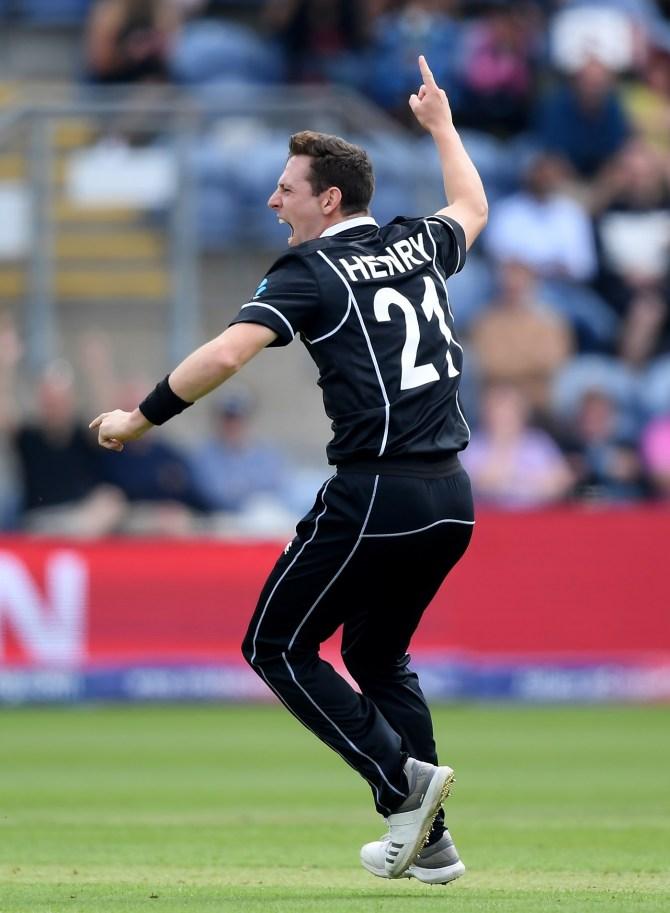 Matt Henry three wickets New Zealand Sri Lanka World Cup 4th Match cricket