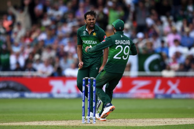 Wahab Riaz gave a thumbs up to Fakhar Zaman, Babar Azam and Imam-ul-Haq for their performances in the ODI series against South Africa