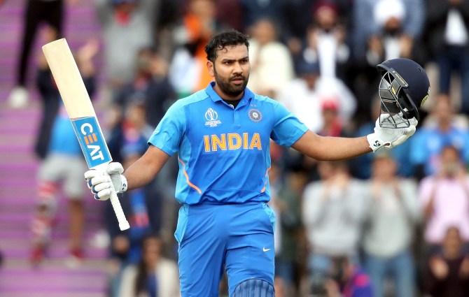 Rohit Sharma 122 not out India South Africa World Cup 8th Match Southampton cricket