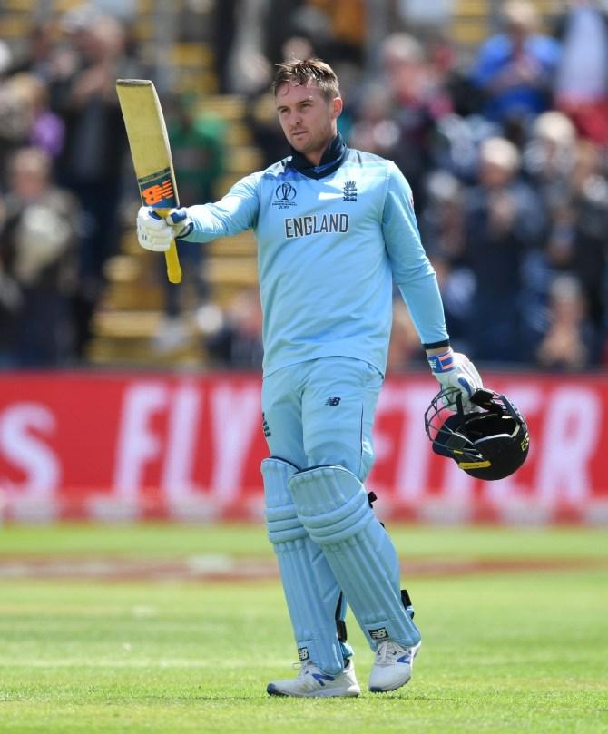 Jason Roy 153 England Bangladesh World Cup 12th Match Cardiff cricket