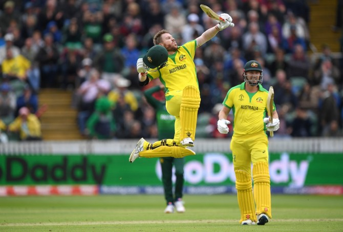 David Warner 107 Australia Pakistan World Cup 17th Match Taunton cricket